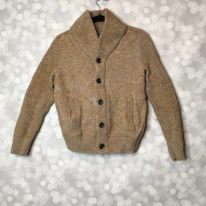 Wool Blend Scottish Cardigan